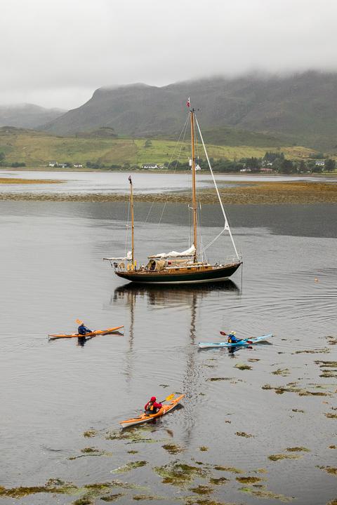 Bateau sur Loch