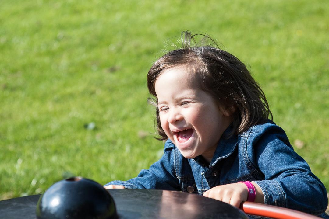 Lucie au parc