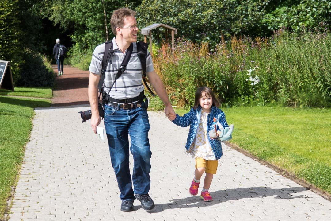 Lucie et son Papa