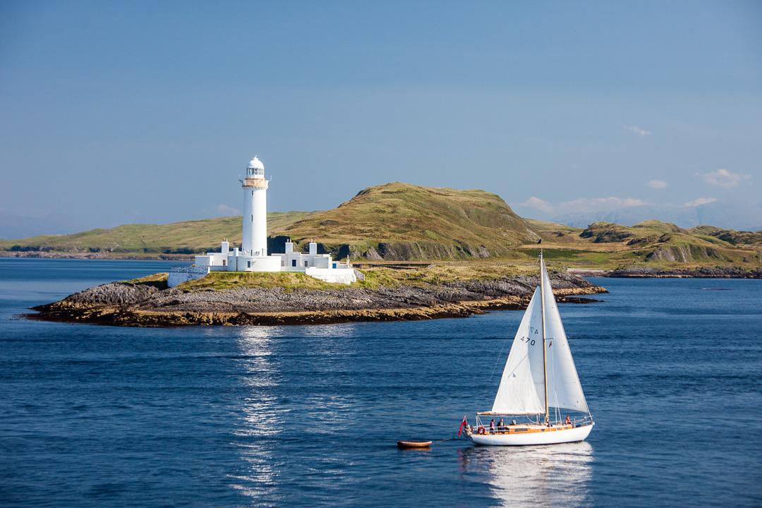 Eilean Musdile Lismore Lighthouse